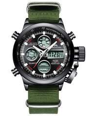腕時計 メンズスポーツ時計 デジタルアナログクオーツ防水