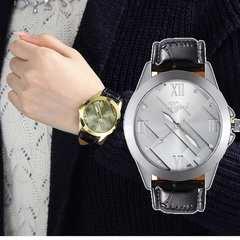 腕時計 ギリシャ文字 メンズ クォーツ腕時計 ファッション時計