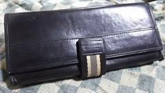 ブラックレーベル 本革製長財布 ブラック・中古