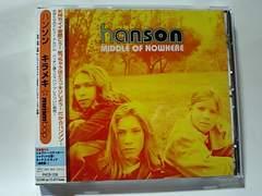 即決! 90年代歴史的名盤アルバム!HANSONハンソン「キラメキ・ンー・バップ」
