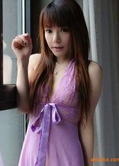 777円SALE★シースルーベビードール紫★