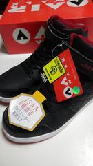 送料込★エアウォーク超軽安全靴『黒』28cm