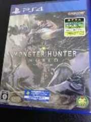 PS4[モンスターハンターワールド]新品・未開封