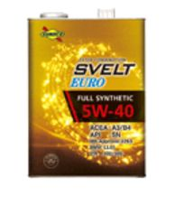 ☆ SUNOCO スヴェルト EURO. 5W-40. API SN. ACEA A3/B4. 20L.
