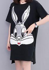 大きいサイズ☆スパンコールTシャツ5XL