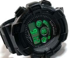 新品 未使用 G-SHOCKのようなクロノグラフ 男らしい腕時計★
