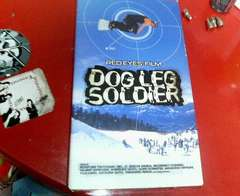 ドッグレッグソルジャースノーボードビデオ激安即決
