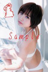 【送料無料】 AKB篠田麻里子 写真5枚セット<サイン入> 24