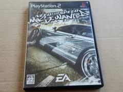 人気シリーズ。PS2☆ニードフォースピードモストウォンテッド☆