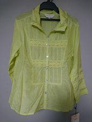新品 via faburricaシャツ