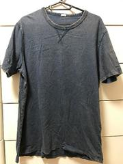 美品 GU  デニム風 半袖Tシャツ メンズLサイズ