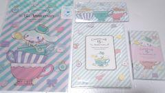 Cinnamoroll*シナモン/生誕15th記念*ステーショナリーセット/定価2754円