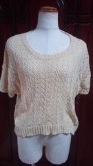 THEEMPORIUMジエンポリアム模様編みセーター(A-700