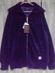 新品未使用紫の上着