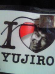 石原裕次郎 I LOVE YUJIRO 23 メモリアル ストラップ 牛革 イタリア 茶色