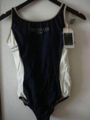 トラサルディスイムスーツ水着13Lサイズ紺ワンピースタイプ