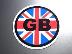 ○円形 ユニオンジャックイギリス国旗ステッカー シール