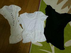 レディース 婦人服 まとめ売 トップス ブランド 半袖 白 黒