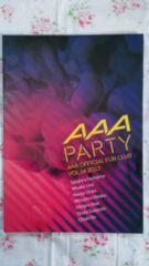AAA party ファンクラブ会報誌 No14 2013