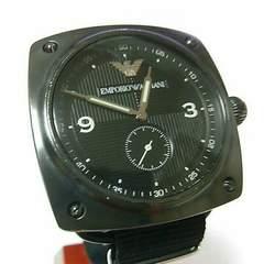 送料無料 電池交換済み!エンポリオアルマーニ メンズ腕時計男性