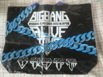 未開封BIG BANG ALIVETOUR2012 IN JAPANテイクアウトバッグ