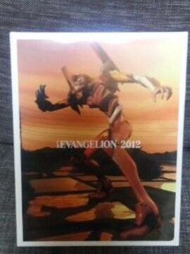 コレクターの方にお勧めエヴァ非売品大判本革手帳2012年