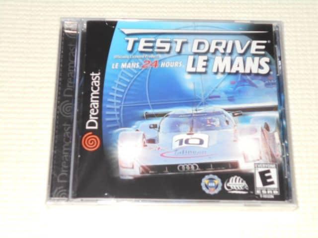 DC★TEST DRIVE LE MANS LE MANS 24 HOURS 海外版  < ゲーム本体/ソフトの