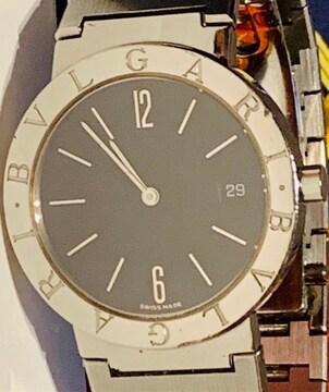良品ブルガリメンズ時計BB33SSDブレスベルト箱付き稼働品