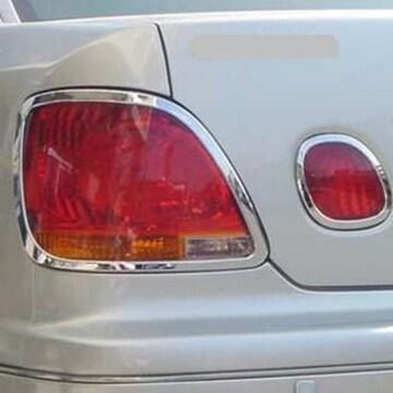 トヨタ メッキテールライトリング 16アリスト GS300