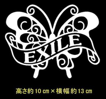 ☆【エグザイル EXILE】蝶リボン カッティングステッカー ☆