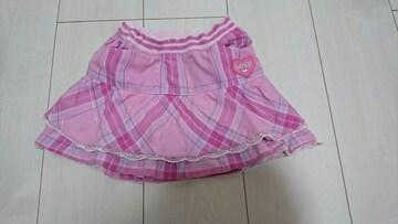 かわいい*ピンクフリル*スカート* size110�p〜