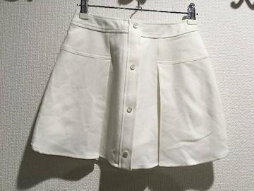 新品タグ付 rienda リエンダ ミニスカート ショートパンツ ショーパン 白 ホワイト