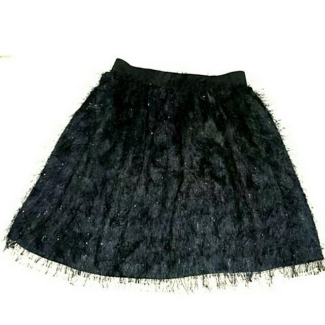 フリーズショップ FREE'S SHOP 新品 2万円 ボア ミニ スカート < ブランドの