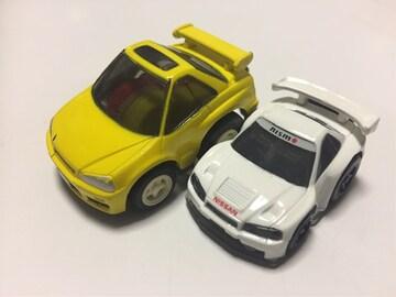 スカイラインGT-R 黄、ちびっこ日産スカイラインGT-Rレーシング