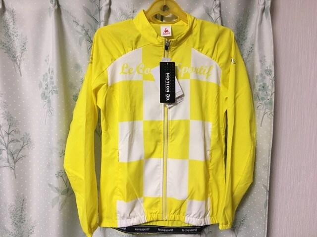 新品未使用ルコック黄色ジャンパージャケットアウターブルゾン  < ブランドの