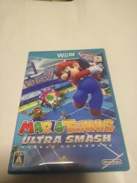 WiiUソフトマリオテニスウルトラスマッシュ