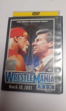 WWEレッスルマニア19(ロック・オースチン・ホーガン・マクマホン・アンダーテイカー・HHH)二枚組DVD