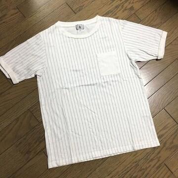 美品TAKEO KIKUCHI デザインカットソー タケオキクチ