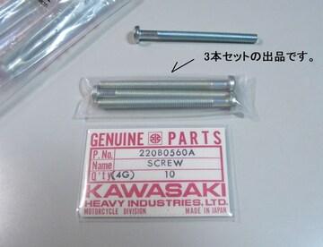 kawasaki H1R H2R ? ジェネレーター取付けスクリュー 3本セット