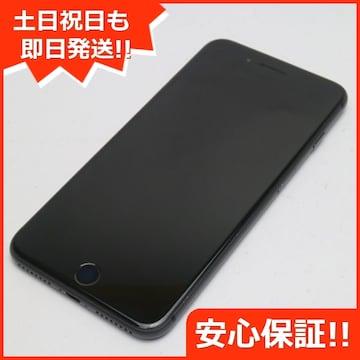 ●美品●SOFTBANK iPhone8 PLUS 256GB スペースグレイ●