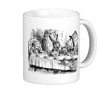 オリジナルイラスト版『 不思議の国のアリス 』のマグカップ