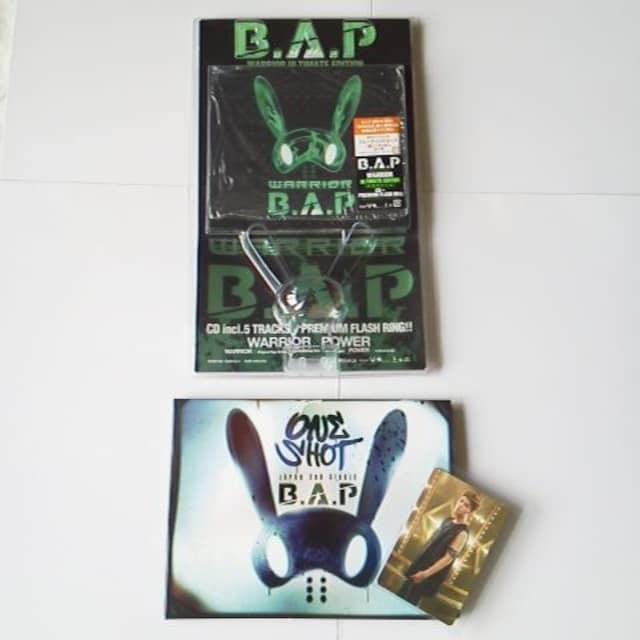 B.A.P【数量限定盤】3点★ONE SHOT/WARRIORヨングク/ヒムチャン/デヒョン  < タレントグッズの