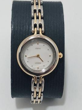 T224 CITIZEN Chere レディース クォーツ腕時計 超ミニサイズ