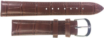 Ounier社製 牛革時計バンド ブラウン 18mm