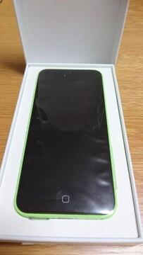 【新品・未使用】iPhone5c 本体 グリーン au