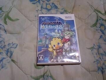 【Wii】チョコボの不思議なダンジョン 時忘れの迷宮