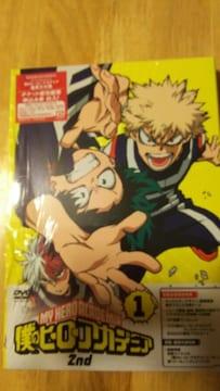 僕のヒーローアカデミア2nd★DVD1巻 初回生産限定版