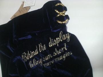 d.i.a♪タグ付ダイア♪ベロア調ミニスカ☆蝶チャーム☆キラキラリング☆金刺繍,スリット