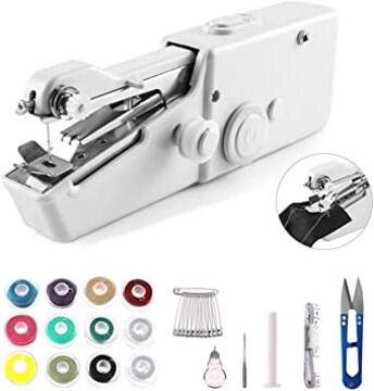 ハンディミシン ハンドミシン 電動ミシン ミシン 乾電池式 裁縫