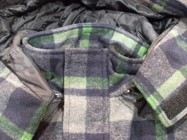 セール新品BrooklynBasementブルックリンベースメント★チェック柄コートXLジャケット < 男性ファッションの